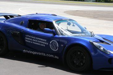 K & G Automotive Lotus Driving Experience Blue Lotus