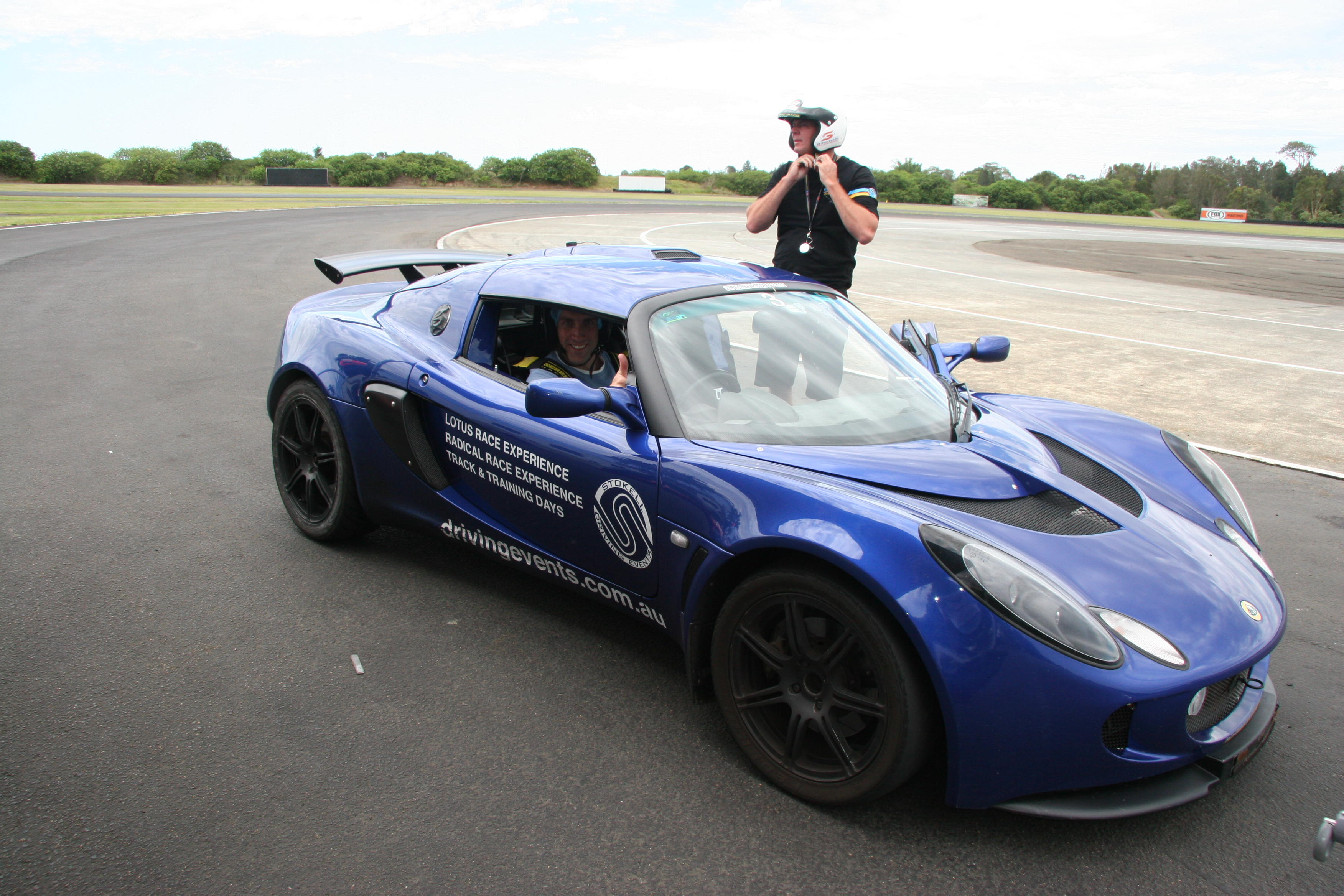 K & G Automotive Lotus Driving Experience Blue Lotus