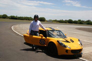 K & G Automotive Lotus Driving Experience Shlomi
