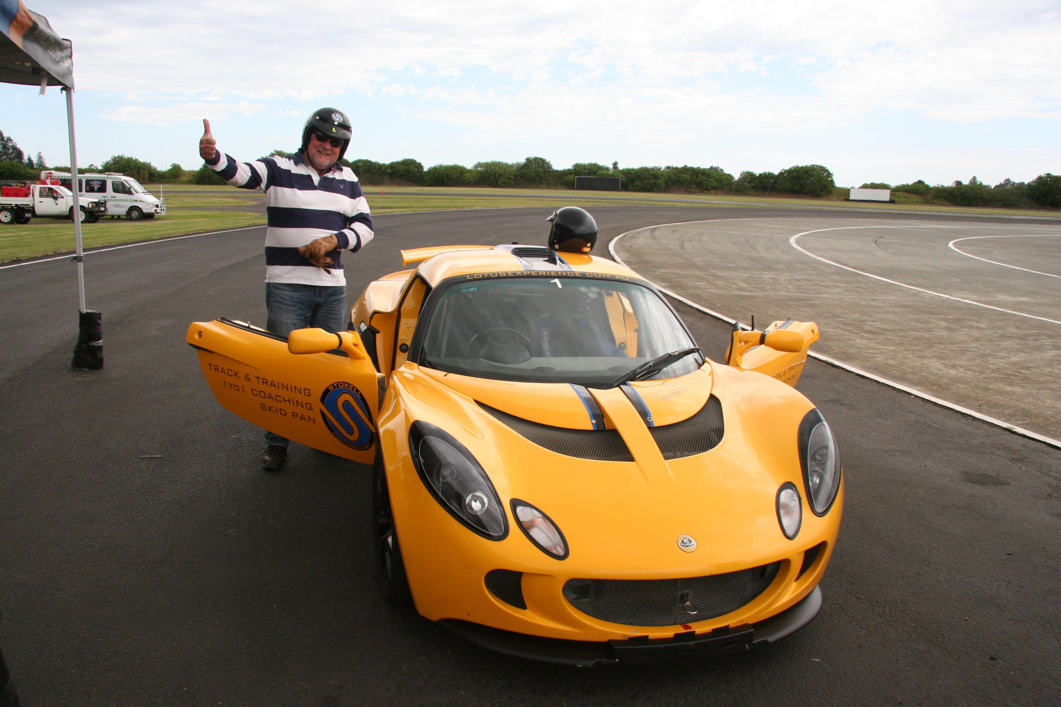 K & G Automotive Lotus Driving Experience William Borbasi