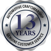 13yrs of exceptional service